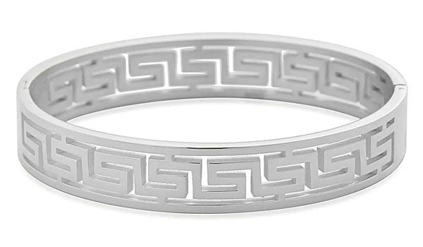 silver greek key bracelet feature img