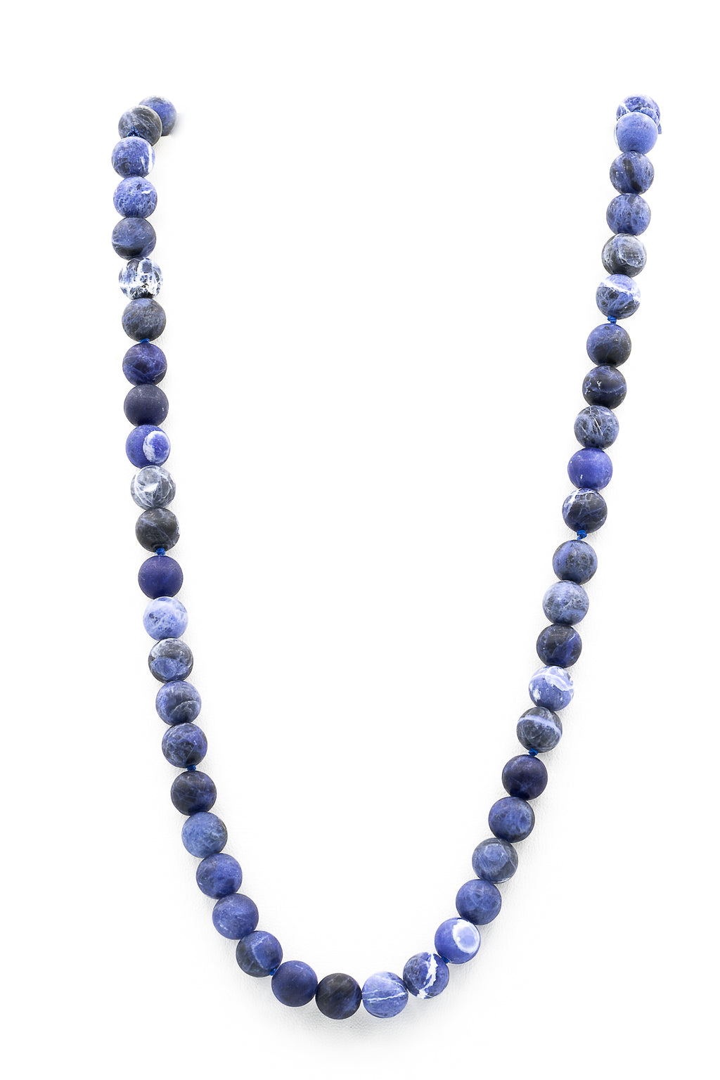 "<img src=""IMG_8084.JPG"" alt=""Sodalite Natural Stone Necklace 8mm-10mm-30 Inches"">"
