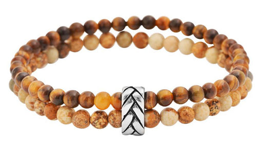 tigers eye bracelet stack img