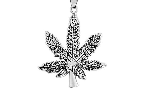 Weed Plant Pendant Necklace feature img