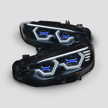 PRE-BUILT F8x M3/M4 and F32 Coupe Vision Ultra + Concept X in blue/white (LED Headlights Only)