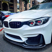 PRE-BUILT F80 M3 F82 M4 F32 Coupe F36 Gran Coupe Vision Concept Headlight Retrofit (LED Headlights Only) With Red Concept X