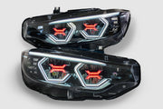F80 M3 F82 F83 M4 F32 Coupe F36 Gran Coupe Vision Concept Headlight Retrofit (LED Headlights Only)