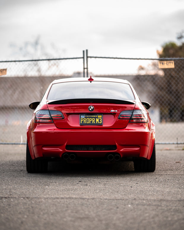 E92 Black Line Sequential LCI style taillights (fits both pre-LCI and LCI vehicles)