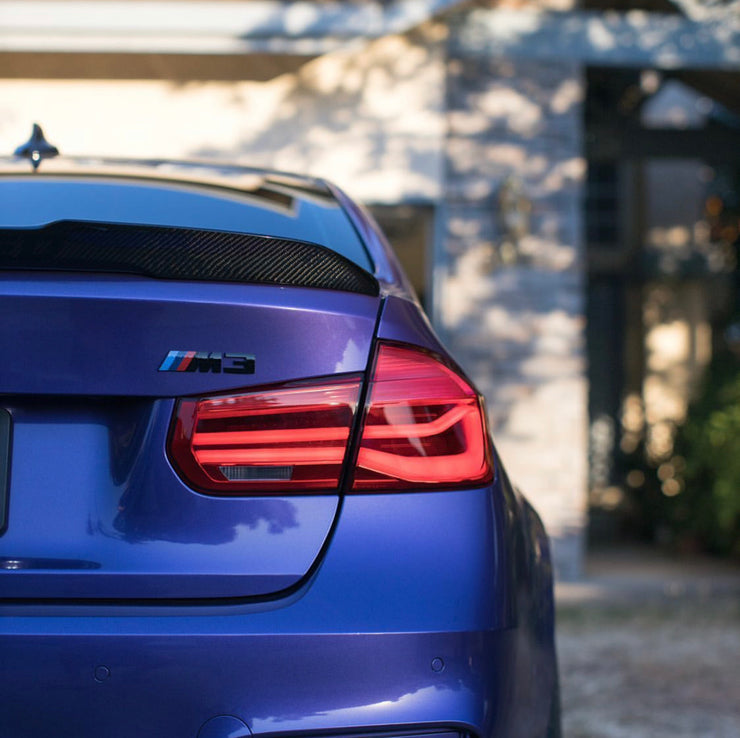 F80 M3 & F30 3 series Sequential LCI style taillights (fits both pre-LCI and LCI vehicles)