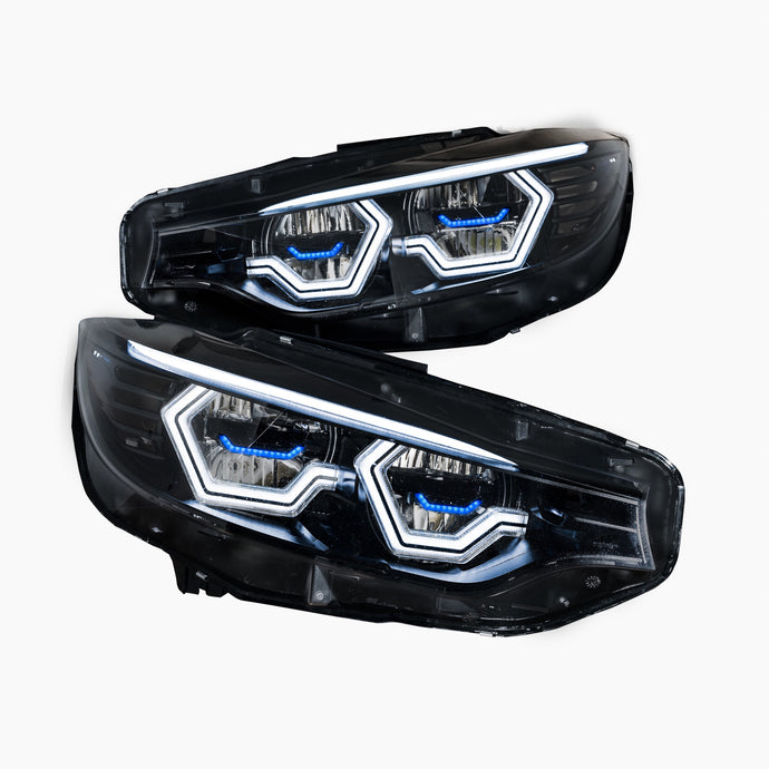F8x M3/M4 and F32 Coupe Vision Ultra Concept Half X Headlight Retrofit (LED Headlights Only) NEW
