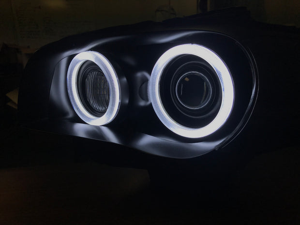E82 E88 Pre-LCI 1 Series Round Ring Retrofit (Xenon headlights only)