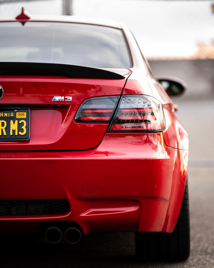 E92 Black Line Sequential LCI style taillights (fits both pre-LCI and LCI vehicles) *Pre-Order*