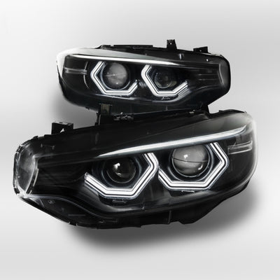 F80 M3 F82 M4 F32 Coupe F36 Gran Coupe Vision Retrofit (Xenon Headlights only)