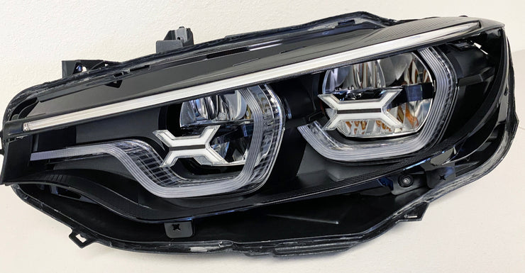 F80 F82 M3 M4 2018+ LCI2 Iconic LED eyebrow, Blackout and Concept X upgrade package