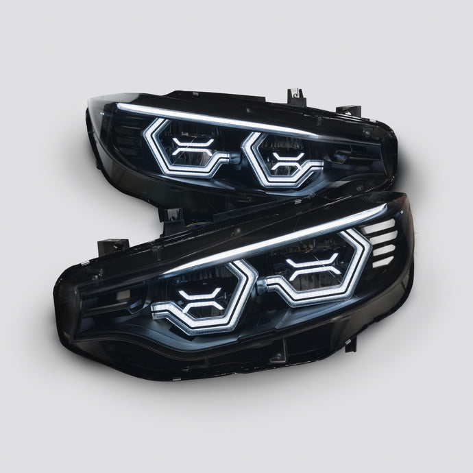 F8x M3/M4 and F32 Coupe Vision Ultra Concept X Headlight Retrofit (LED Headlights Only) NEW