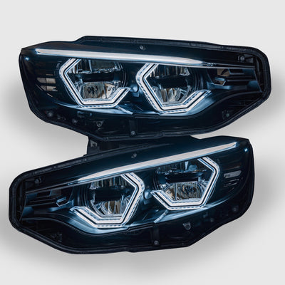 PRE-BUILT F80 M3 F82 M4 F32 F36 Vision Concept Headlight Retrofit (LED Headlights Only)