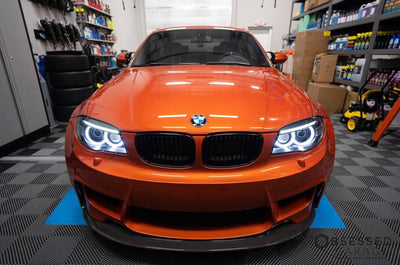 E82 E88 LCI 1 Series Round Ring Retrofit (Xenon headlights only)