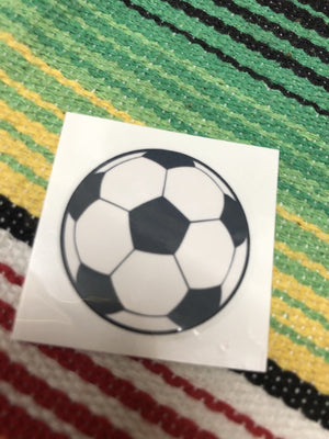 Soccer ball tattoo