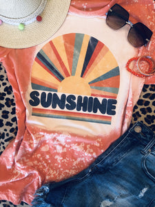 Sunshine Retro Summer Tee