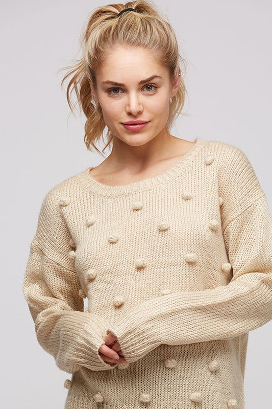 The Pom Pom Sweater