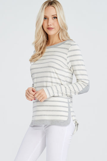 The Kelly long sleeve striped top