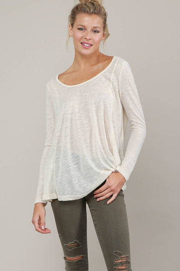 The Michelle Basic Long Sleeve Top