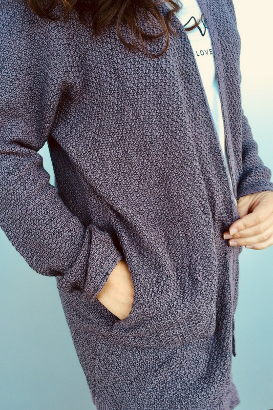 The Stella Marled Cardigan