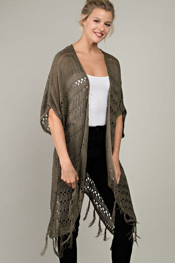The Alexa Crochet Cardigan