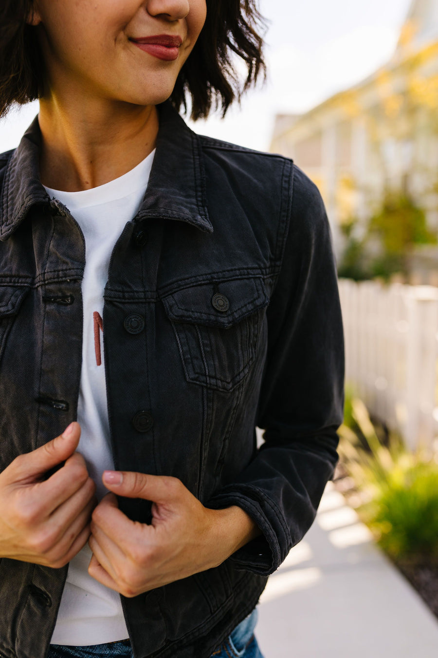 Dark + Mysterious Denim Jacket