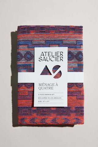 ATELIER SAUCIER Native Fuschia