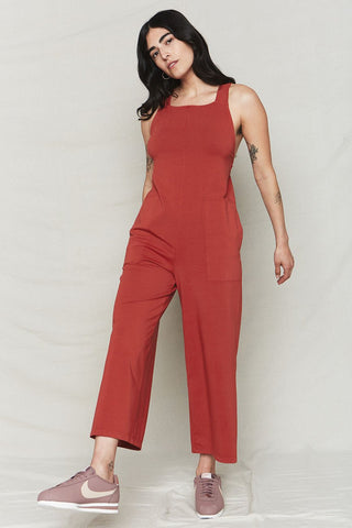 back beat co. Sienna Organic Cotton Easy Jumpsuit
