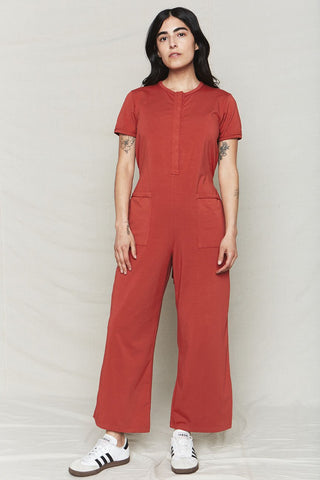 back beat co. Sienna Organic Cotton Spring Jumpsuit