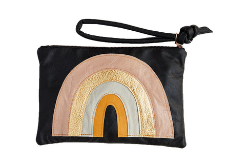 LOVE MERT Abundance Rainbow Clutch (Neutral)