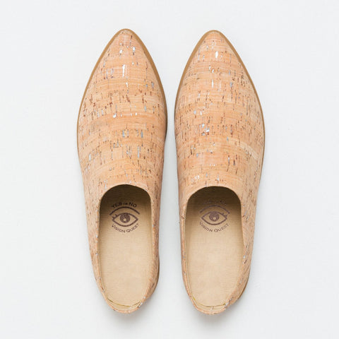 Vision Quest Shoes Natural Cork