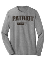 Load image into Gallery viewer, His Glory Patriot Tri-blend Long Sleeve Tee