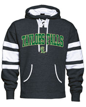 Load image into Gallery viewer, VARSITY FLEECE LACE-UP HOODIE