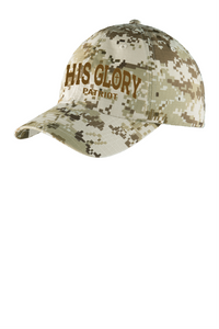 His Glory Patriot Digital Camo Cap
