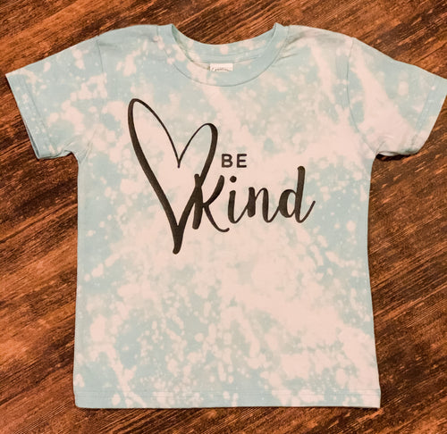 Be kind bleached shirt