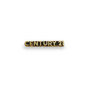 "Pin ""CENTURY 21"" Horizontal Metal"