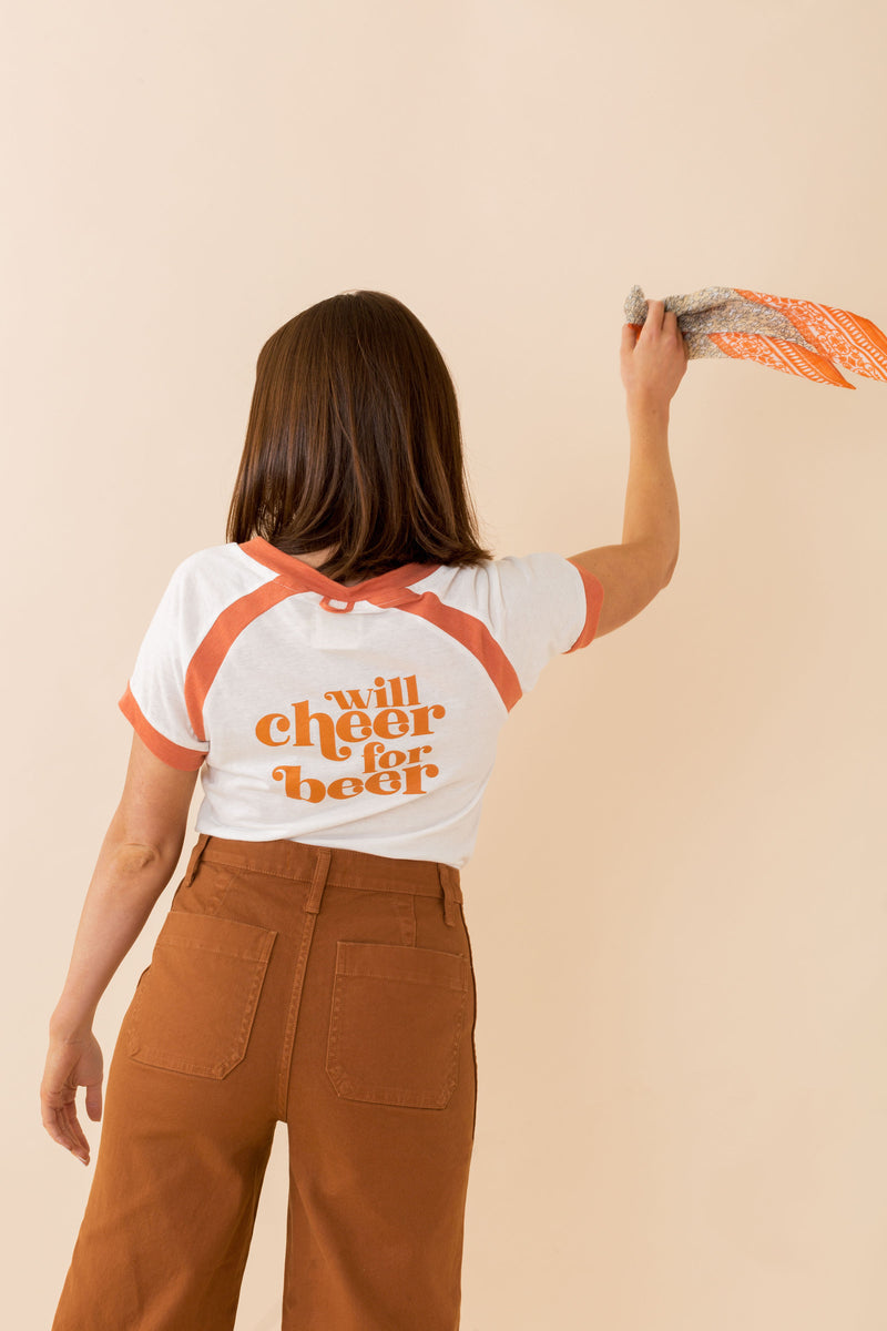 "Texas ""Will Cheer For Beer"" Tee"