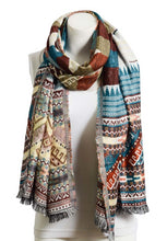 Load image into Gallery viewer, Tribal Alexa Long Scarf