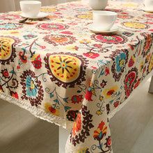 Load image into Gallery viewer, Boho Minority table cover (different sizes)