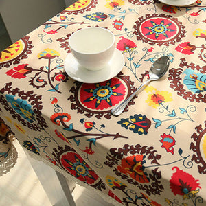 Boho Minority table cover (different sizes)