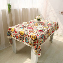 Load image into Gallery viewer, Boho Minority table cover (different sizes)-Home & Garden-CatCow Co