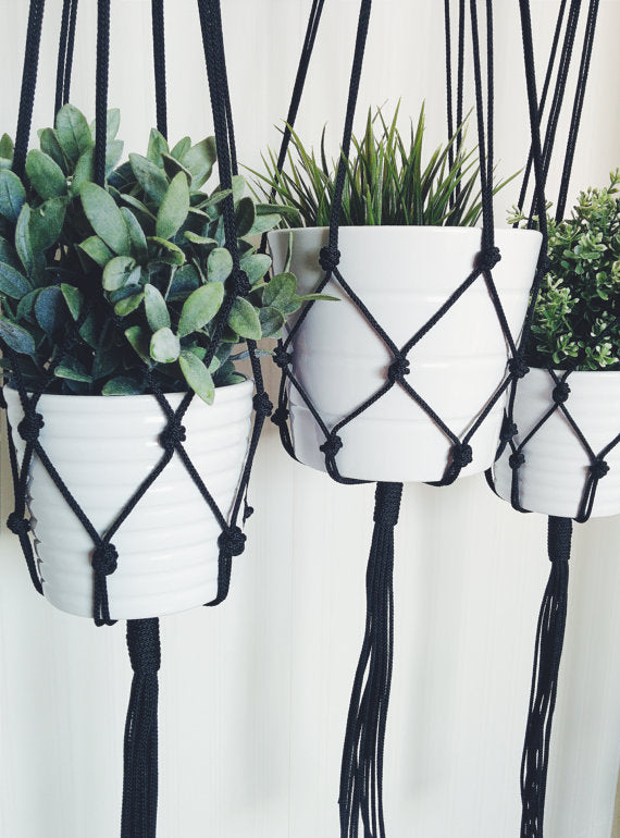 Macrame Pot Holder-Home & Garden-CatCow Co