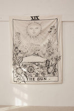 Load image into Gallery viewer, The Sun Tarot Card Tapestry-CatCow Co