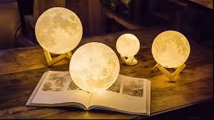 LunaLuz - Enchanting Moon Light Lamp ( 6 different sizes)-Home & Garden-CatCow Co