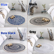Load image into Gallery viewer, Morocco Handmade Round Carpet Rug-Home & Garden-CatCow Co