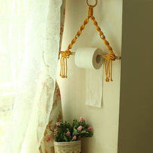 Load image into Gallery viewer, Toilet Paper Stand Macrame stand-Home & Garden-CatCow Co