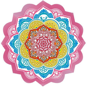 Mandala Beach Towel (various colors available)-CatCow Co