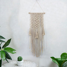 Load image into Gallery viewer, Asana macrame wall hanger-CatCow Co
