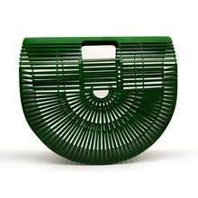 Load image into Gallery viewer, Boho Bamboo Clutch Bag (2 sizes)