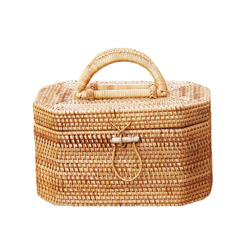 Rattan Bali PicNik Bag-CatCow Co