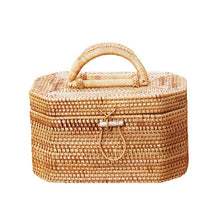 Load image into Gallery viewer, Rattan Bali PicNik Bag-CatCow Co